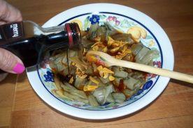 ensalada templada de pencas